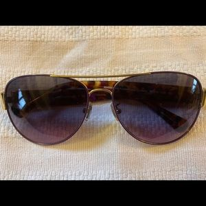 Gorgeous Purple and Gold Sunglasses